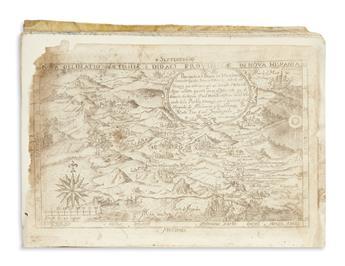 (MEXICAN IMPRINT--1682.) Medina, Balthasar de. Chronica de la santa provincia de San Diego de Mexico.