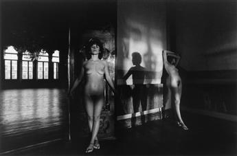 LUCIEN CLERGUE (1934-2014) Portfolio with 12 photographs, almost all are female nudes shot in Venice, Italy.