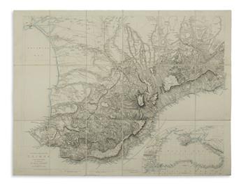 ARROWSMITH, JOHN. Southern Portion of the Crimea,