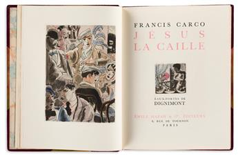 FRANCIS-CARCO-(1886-1958)-Three-Limited-Edition-Titles
