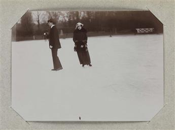 (WINTER-SPORTS)-Album-with-84-Belle-Epoque-period-photograph