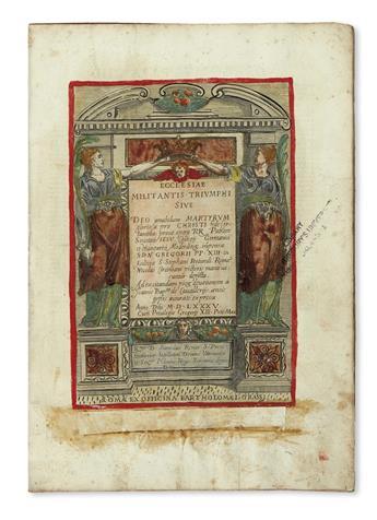 CIRCIGNANI-NICCOLÒ-Ecclesiae-militantis-triumphi--1585--Hand