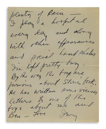 BERLIN-IRVING-Autograph-Letter-Signed-Love-Irving-to-his-wif