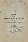 LINDBERGH, CHARLES A. Signature, C. A. Lindbergh, in pencil,