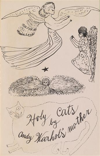 ANDY WARHOL Holy Cats by Andy Warhols Mother.