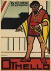 CHARLES VERSCHUUREN, JR. (1899-1955). OTHELLO. 1917. 42x30 inches, 108x78 cm. Kotting, Amsterdam.