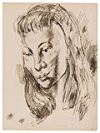CHARLES WHITE (1918 - 1979) Collection of 31 early sketchbook drawings.
