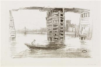 JAMES A. M. WHISTLER The Broad Bridge.