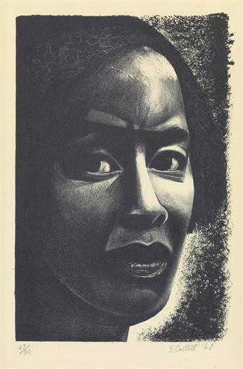 ELIZABETH CATLETT (1915 - 2012) Mujer Negra.