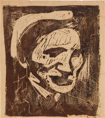WILLIAM H. JOHNSON (1901 - 1970) Holcha Krake.