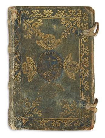 (MEXICAN IMPRINT--1690.) [Fernández Cejudo, Juan.] Llave de oro, para abrir las puertas del cielo, la regla y ordenaciones
