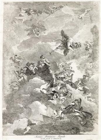 GIOVANNI D. TIEPOLO Il Trionfo di Ercole.