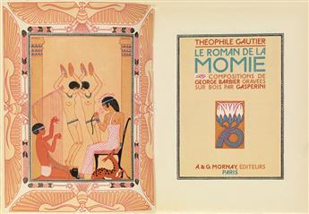 (BARBIER, GEORGE.) Gautier, Théophile. Le Roman de la Momie.