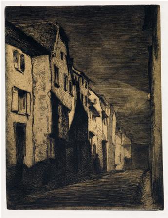 JAMES A. M. WHISTLER Street at Saverne.
