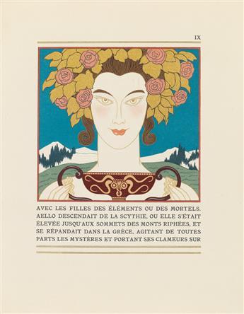(BARBIER, GEORGE.) Guérin, Maurice de. Poèmes en Prose.