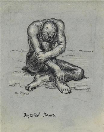 PAUL CADMUS Dejected Dancer.