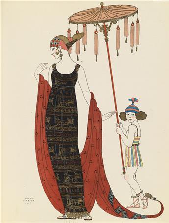 BARBIER, GEORGE. Vingt-Cinq Costumes pour le Théâtre.