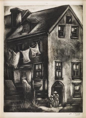 DOX THRASH (1893 - 1965) Rugged Homes.