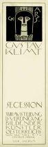 GUSTAV KLIMT (1862-1918) XVIII SECESSION AUSSTELLUNG. 1903. 37x12 inches. A. Berger, Vienna.