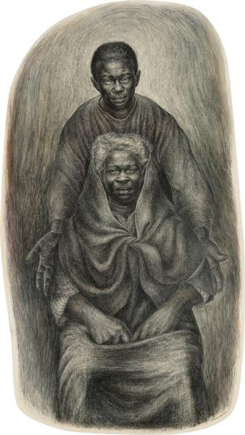 CHARLES WHITE (1918 - 1979) Take My Mother Home.