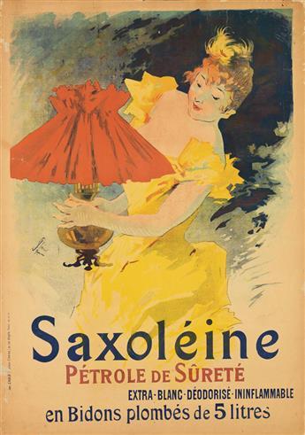JULES CHÉRET (1836-1932). [ART NOUVEAU.] Two posters. 1891 & 1892. Each approximately 48x34 inches, 122x87 cm. Chaix, Paris.
