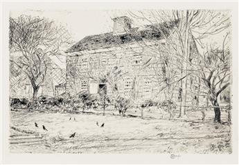 CHILDE HASSAM The Home Sweet Home Cottage No. 2, Easthampton.