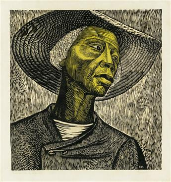 ELIZABETH CATLETT (1915 - 2012) Cosechadora de Algodón (Sharecropper).
