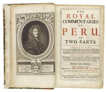 (PERU.) Lasso de la Vega, Garcia. The Royal Commentaries of Peru.