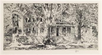 CHILDE HASSAM House on the Main Street, Easthampton.