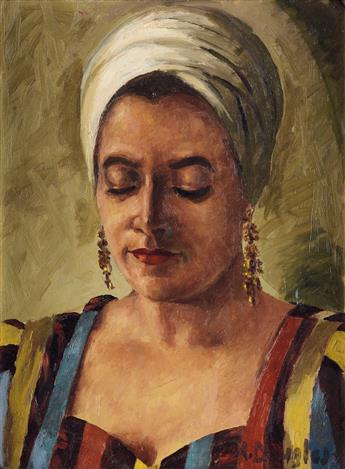 AARON DOUGLAS (1899 - 1979) Mollie.