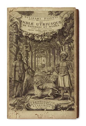 (BRAZIL.) Piso, Willem. De Indiae utriusque re naturali et medica libri quatuordecim.
