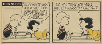 CHARLES SCHULZ. (PEANUTS / CARTOON) Never!! Never in ten thousand million billion years!