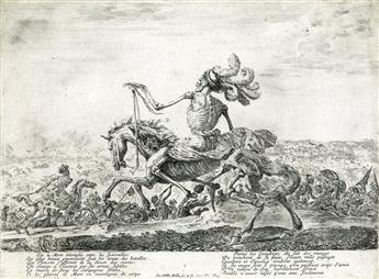 STEFANO DELLA BELLA Death on the Battlefield.
