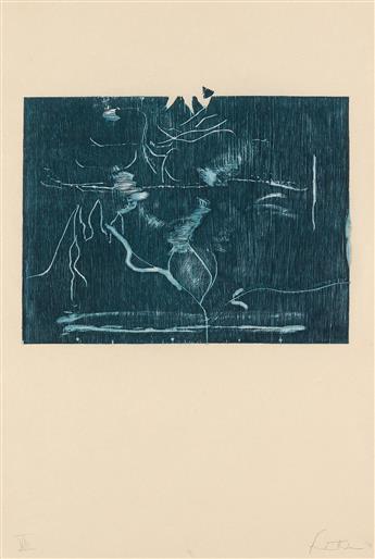HELEN FRANKENTHALER Monoprint XIII—The Clearing.