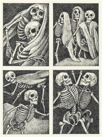 ARNOLD LOBEL. Dance of the Thirteen Skeletons.