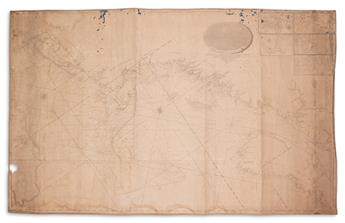 BLUNT, EDMOND, M. Blunts New Chart of the Northeastern Coast of North America.
