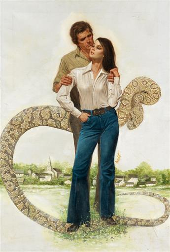 (PULP.) LOU MARCHETTI. The Snake.