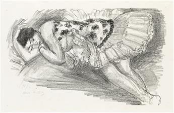 HENRI MATISSE Danseuse endormie au divan.