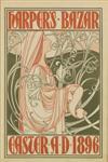 WILLIAM H. BRADLEY (1868-1962). HARPER''S BAZAR / EASTER. 1896. 15x10 inches, 39x26 cm.