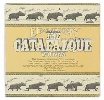 GOREY, EDWARD. The Catafalque Works.