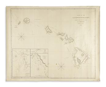 ARROWSMITH, AARON; and ARROWSMITH, SAMUEL. Chart of the Sandwich Islands.