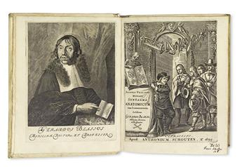 VESLING, JOHANN. Syntagma anatomicum . . . editio novissima.  1696