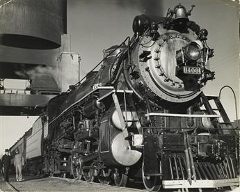 MARGARET BOURKE-WHITE (1904-1971) Pres. Roosevelts Warm Springs Trip, Locomotive #1408.
