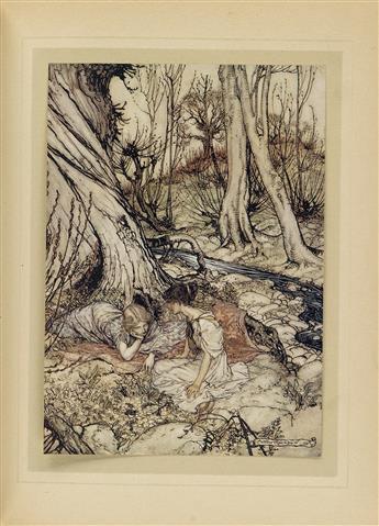 (RACKHAM, ARTHUR.) Shakespeare, William. A Mid-Summer Nights Dream.