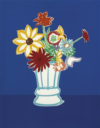 TOM WESSELMANN Country Bouquet with Blue.