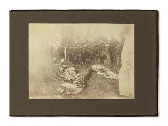 (SPANISH-AMERICAN WAR.) Album of photographs from the Philippine Insurrection.