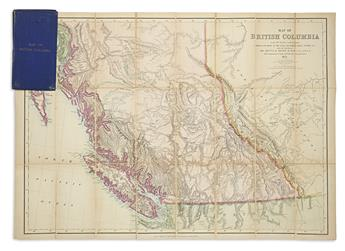 (CANADA.) Trutch, J.W.; and Launders, J.B. Map of British Columbia to the 56th Parallel, North Latitude.