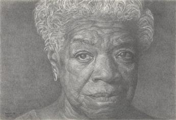 RICHARD WYATT, JR. (1955 -  ) Maya Angelou.