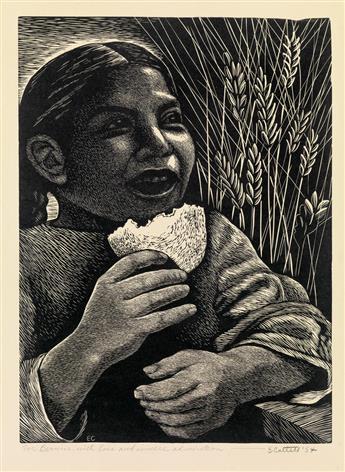 ELIZABETH CATLETT (1915 - 2012) El Derecho al Pan.