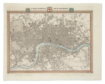 (LONDON.) Creighton, R. A Plan of London and its Environs.